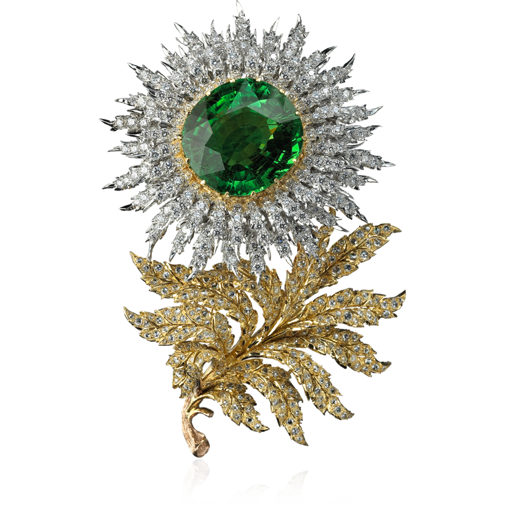 Buccellati - Brooches - Aster Brooch - Brooches