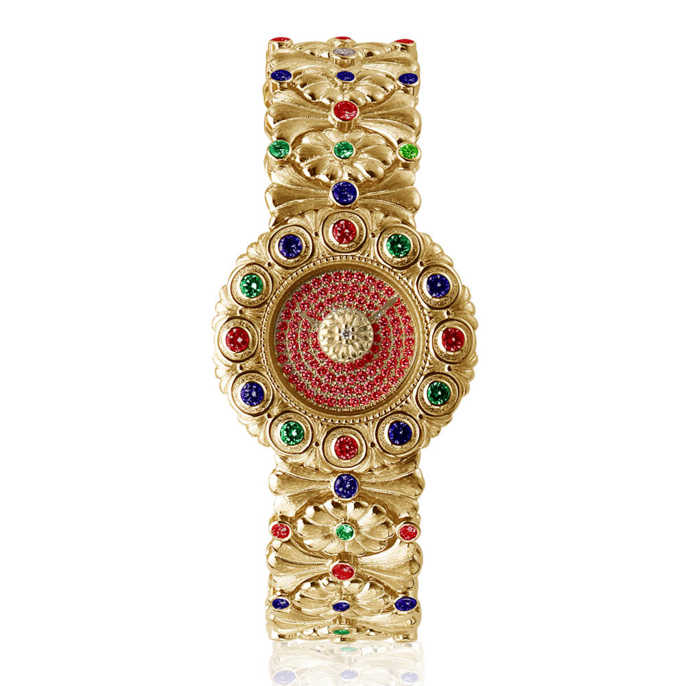 Buccellati - Jewelled - ELIO Fiorefiocco Arabesque - Jewelled
