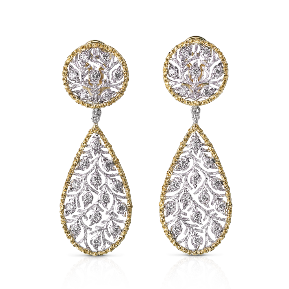 Buccellati - Earrings - Ramage Pendant Earrings - Jewelry