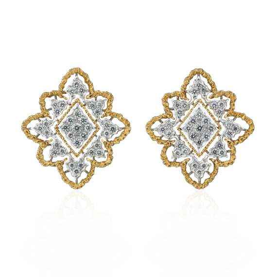 Buccellati - Earrings - Orecchini a bottone - Jewelry