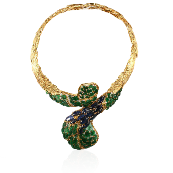 Buccellati - Collane - Pavo Real Necklace - Alta Gioielleria