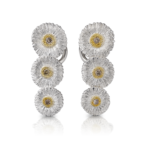 Buccellati - Earrings - Orecchini Daisy - Jewelry