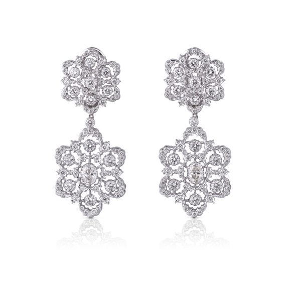 Buccellati - 耳环 - Ghirlanda Pendant Earrings - 风格作品